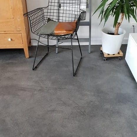 Betonlookverf - inspiratie - vloeren - leisteen - vloer