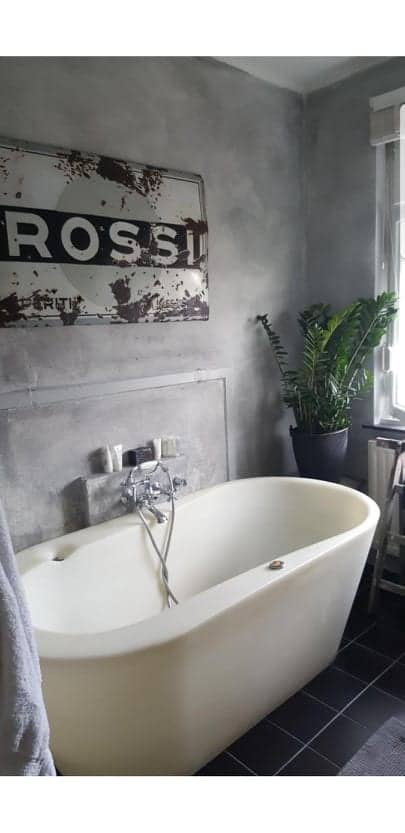 Vloertegels Badkamer Verven Met Betonverf